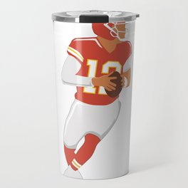 Football Players Travel Mug