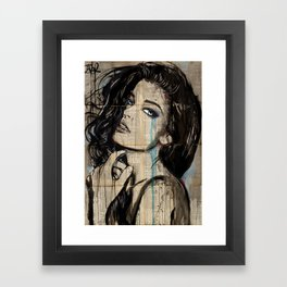 new page Framed Art Print