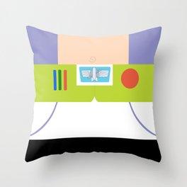 Buzz Lightyear Minimalist Throw Pillow