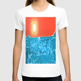 Desert Sky, Sea Land T-shirt