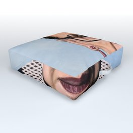 Ruth Bader Ginsburg Outdoor Floor Cushion
