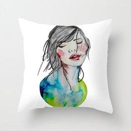 Kindness is an inner desire Throw Pillow
