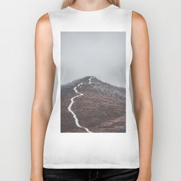 Clear path - Landscape and Nature Photography Biker Tank