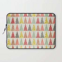 Whimsical Christmas Trees Laptop Sleeve