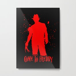 Come To Freddy Metal Print