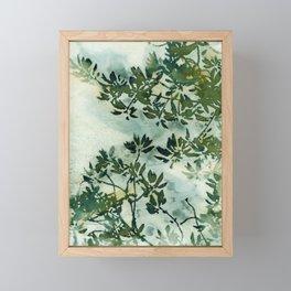 Wallpaper Foliage Framed Mini Art Print