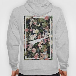 Floral and Pin Up Girls Pattern Hoody