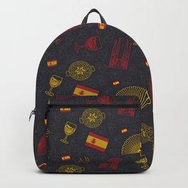 Spanish pattern Backpack