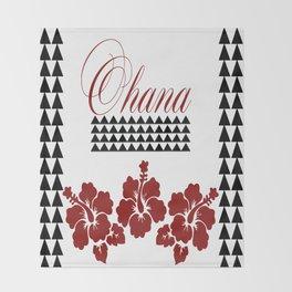 OHANA DESIGN Throw Blanket