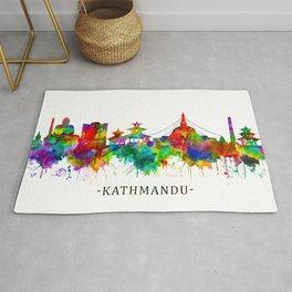 Kathmandu Nepal Skyline Rug