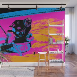 And the Puck Stops Here! - Hockey Goalie Wall Mural