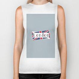 Home, Love, Illustration, Heart, london  Biker Tank