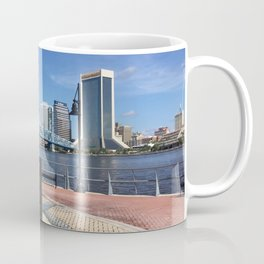 Lone Sailor Statue, Jacksonville, Florida. Coffee Mug