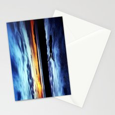 Reflections On Troon Beach Stationery Cards