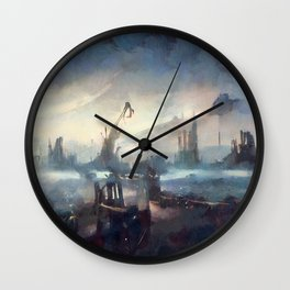 Amanohashidate, Japan Wall Clock
