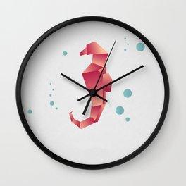 Seahorse_2 Wall Clock