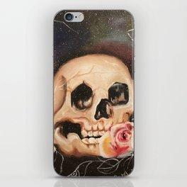 Rose Skull iPhone Skin