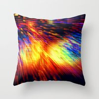 storm Throw Pillows featuring Storm by 2sweet4words Designs