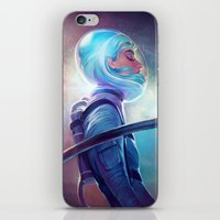 loish iPhone & iPod Skins featuring silence by loish