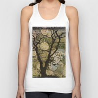 silhouette Tank Tops featuring Silhouette by April Gann