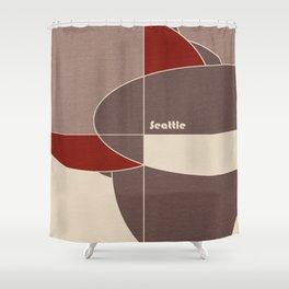 Seattle Mosaic Shower Curtain