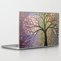 constellations Laptop & iPad Skins featuring Constellations  by Amy Giacomelli