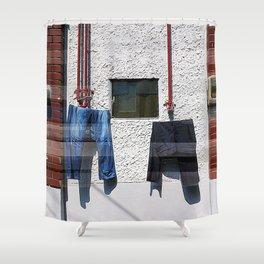 Yongdu-dong Shower Curtain