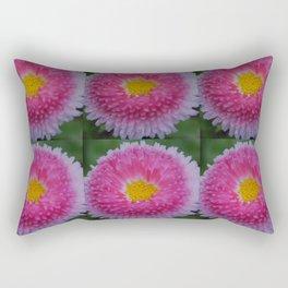 Bellis Daisy Rectangular Pillow