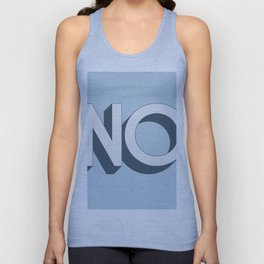 No Pop Art Unisex Tank Top