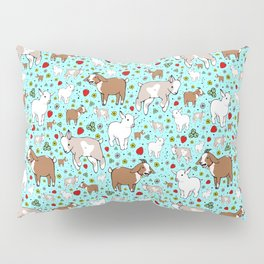 Cute Goats Pillow Sham