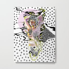Sweetly Lavender Metal Print