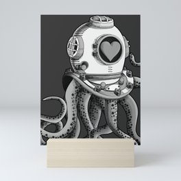 I'm falling in love with you? (Black and white) Mini Art Print