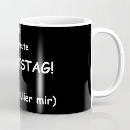Please congrats me to my birthday Coffee Mug