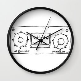 compressor LA-3A Wall Clock