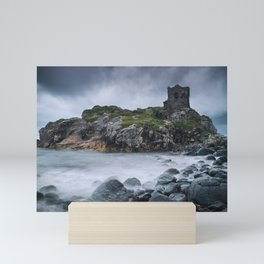 Kinbane Castle II Mini Art Print