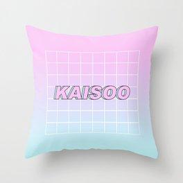 KAI SOO #1 Throw Pillow