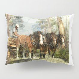 Clydesdale Timber Team Pillow Sham