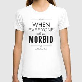 Just Taxidermy Things: Morbid T-shirt