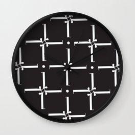 """Wallpaper - The Didot """"j"""" Project Wall Clock"""