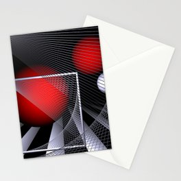 liking geometry -4- Stationery Cards