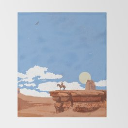 OUT WEST Throw Blanket
