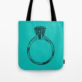 Diamond Ring Bling Tote Bag