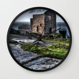 Fragments of the Past Wall Clock