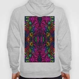 Psychedelic Illusions Intense Colors Pattern Hoody
