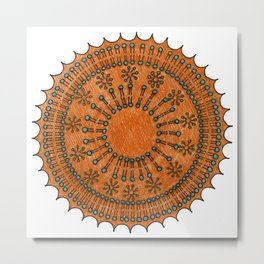 Vesicle Mandala 01 Metal Print