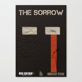 The Cobra Unit - The Sorrow Canvas Print