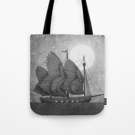 Night Odyssey  Tote Bag