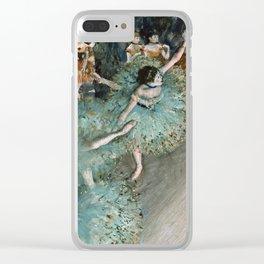 Edgar Degas - Dancer In Green.1877 Clear iPhone Case