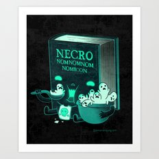 Necronomnomnomicon Art Print