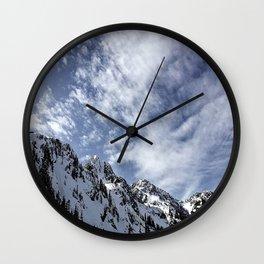 Mountain Shimmer Wall Clock